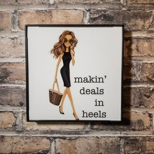 Making Deals in Heels Frame